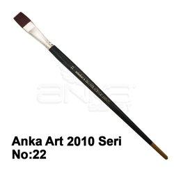Anka Art - Anka Art Sentetik Düz Kesik Uçlu Fırça 2010 Seri (1)
