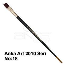 Anka Art Sentetik Düz Kesik Uçlu Fırça 2010 Seri - Thumbnail