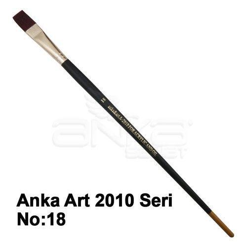 Anka Art Sentetik Düz Kesik Uçlu Fırça 2010 Seri