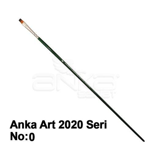 Anka Art Sentetik Fırça 2020 Seri