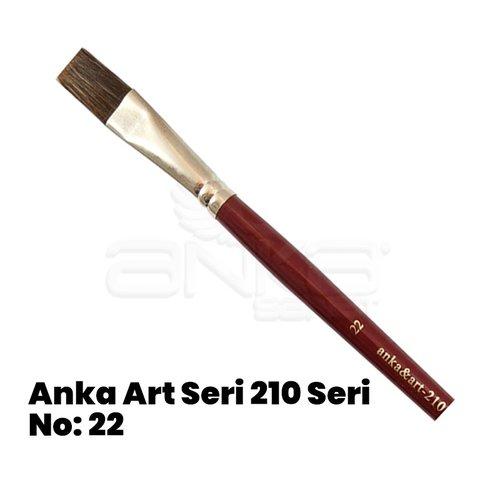 Anka Art Seri 210 Yağlı Boya Fırçası