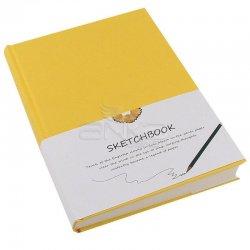 Sketch Book Sert Kapak 120 Sayfa 19x26cm - Thumbnail