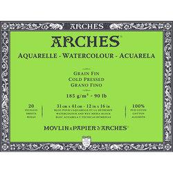Arches - Arches Sulu Boya Blok Defter Cold Pressed 185g 20 Yaprak (1)