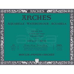 Arches - Arches Sulu Boya Blok Defter Cold Pressed 640g 10 Yaprak (1)