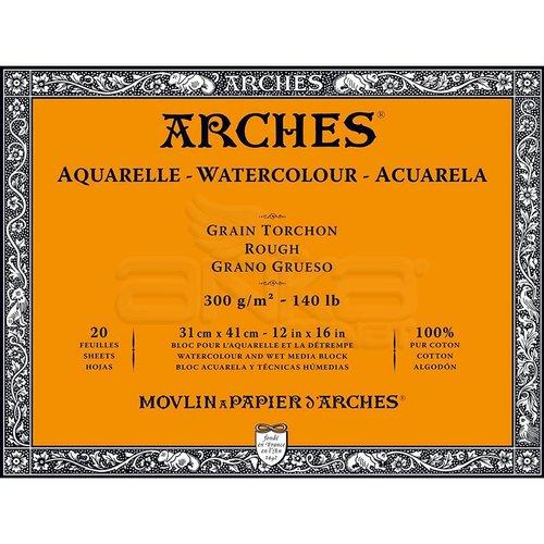 Arches Sulu Boya Blok Defter Rough 300g 20 Yaprak
