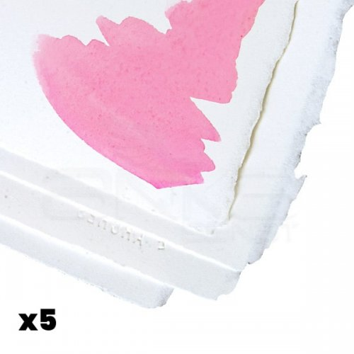 Arches Sulu Boya Tabaka Bright White 300g 56x76cm 5li Paket