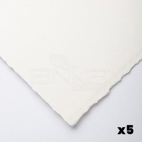 Arches Sulu Boya Tabaka Natural White 640g 56x76cm 5li Paket