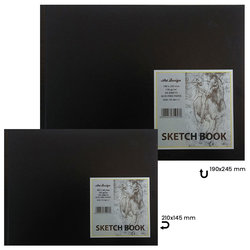 Art Design - Art Design Sketch Book 130g 64 Yaprak (1)