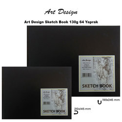 Art Design - Art Design Sketch Book 130g 64 Yaprak