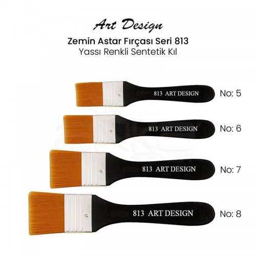 Art Design Zemin Astar Fırçası Seri 813