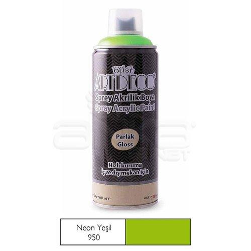 Artdeco Akrilik Sprey Boya 400ml 950 Neon Yeşil