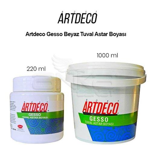 Artdeco Gesso Beyaz Tuval Astar Boyası