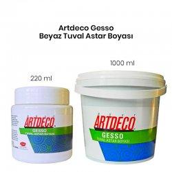 Artdeco - Artdeco Gesso Beyaz Tuval Astar Boyası (1)