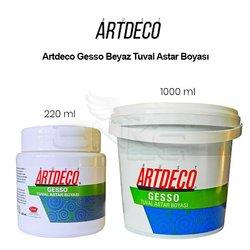 Artdeco Gesso Beyaz Tuval Astar Boyası - Thumbnail
