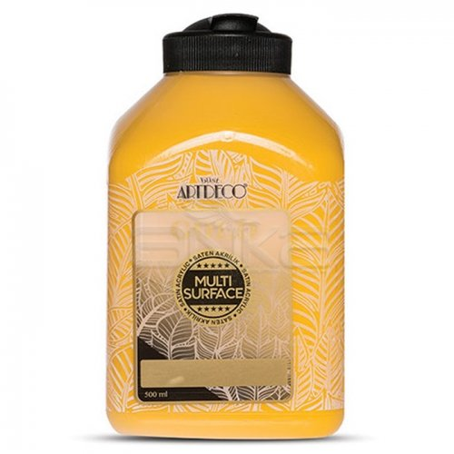 Artdeco Gold Multi Surface Akrilik Boya 500ml 208 Taksi Sarısı