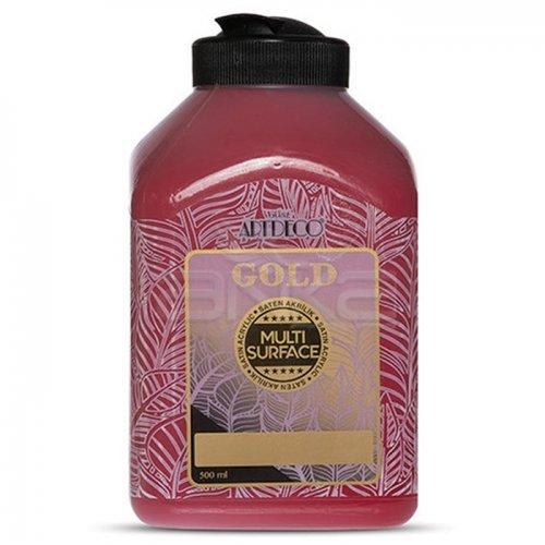 Artdeco Gold Multi Surface Akrilik Boya 500ml 228 İst Kırmızı