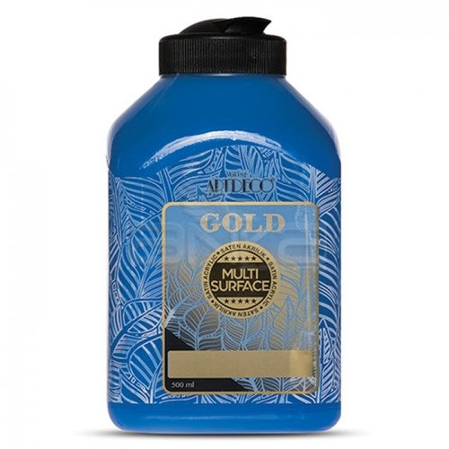 Artdeco Gold Multi Surface Akrilik Boya 500ml 270 Mavi