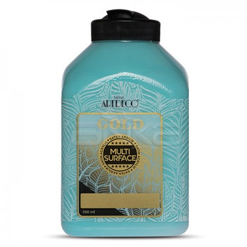 Artdeco Gold Multi Surface Akrilik Boya 500ml 279 Gökyüzü Mavi