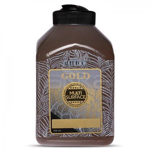Artdeco Gold Multi Surface Akrilik Boya 500ml 293 Acı Kahve