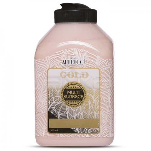 Artdeco Gold Multi Surface Akrilik Boya 500ml 321 Gül Pembe