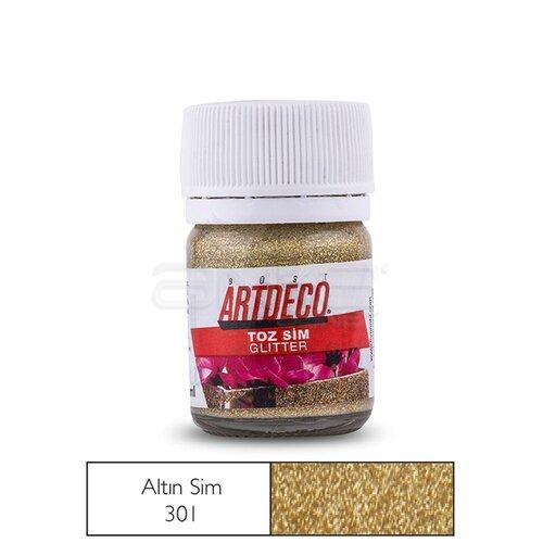 Artdeco Toz Sim (Glitter) 301 Hazır Altın Sim