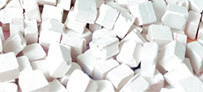 Artebella - Artebella Seramik Mozaik 8x8mm 200 Adet Beyaz 6701