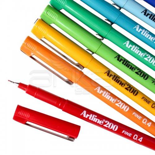Artline Fineliner 200 0.4mm İnce Uçlu Yazı Ve Çizim Kalemi