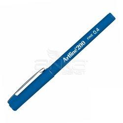 Artline - Artline Fineliner 200 0.4mm İnce Uçlu Yazı Ve Çizim Kalemi Blue