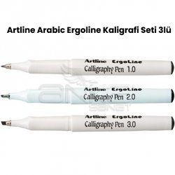 Artline - Artline Arabic Ergoline Kaligrafi Seti 3lü