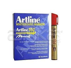 Artline - Artline Beyaz Tahta Kalemi 12li Kırmızı