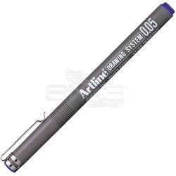 Artline - Artline Drawing System Teknik Çizim Kalemi Mavi (1)