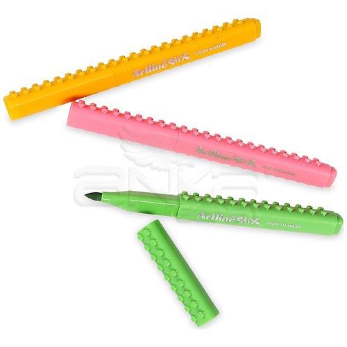 Artline Stix Brush Marker 12 Renk