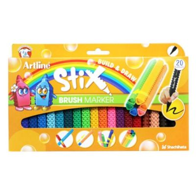 Artline Stix Brush Marker 20 Renk