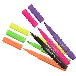 Artline Stix Brush Marker 6 Renk - Thumbnail