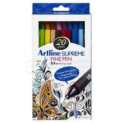 Artline - Artline Supreme Fine Pen 0.4mm 20li Set