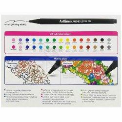 Artline Supreme Fine Pen 0.4mm 30lu Set - Thumbnail