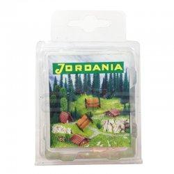 Jordania - Jordania Maket Plastik Bank 1/150 2li BY150