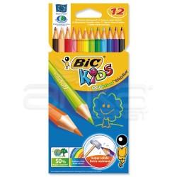 Bic - Bic Kids Evolution Kuru Boya Takımı 12 Renk (1)