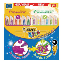 Bic - Bic Kids Mini Colour and Create 12li Keçeli Kalem Seti (1)