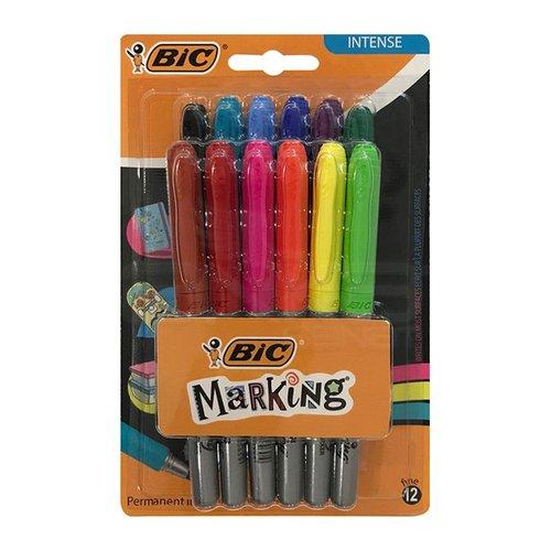 Bıc Markıng Color Permanent Markör 12li