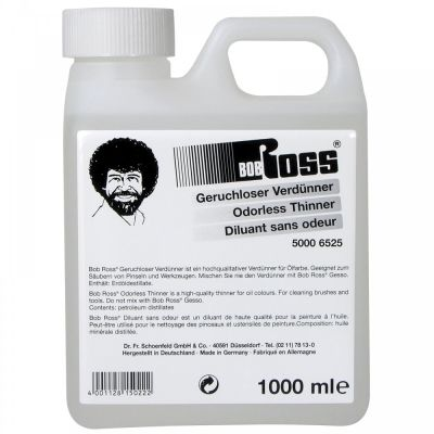 Bob Ross Kokusuz Thinner (İnceltici) 1000ml 50 6525