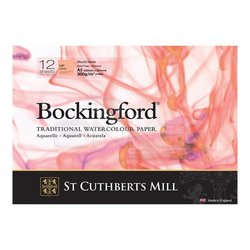 Bockingford Traditional Sulu Boya Defteri Hot Pressed 300g 12 Yaprak - Thumbnail