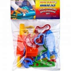 Brons - Brons Oyun Hamuru Şekillendirme Seti BR-471
