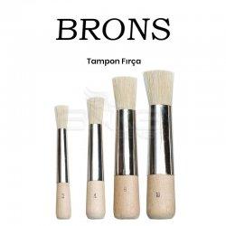 Brons - Brons Tampon Fırça