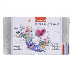 Bruynzeel - Bruynzeel Colouring & Drawing Çizim Seti 70li 60319070 (1)