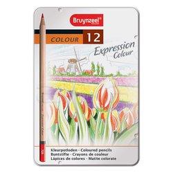 Bruynzeel - Bruynzeel Expression Colour 12li Kuru Boya Kalem Seti (1)