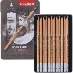 Bruynzeel - Bruynzeel Expression Graphite Dereceli Kalem 12li Set