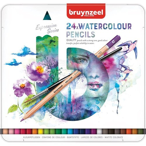 Bruynzeel Expression Series Sulu Boya Kalem Seti 24lü 60313024