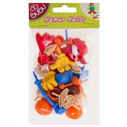 Bubu - Bubu Plastik Oyun Hamuru Aksesuarları 26 Parça
