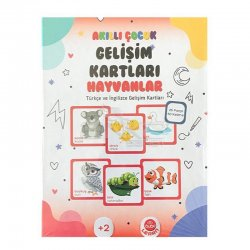 Bubu - Bubu Akıllı Çocuk Gelişim Kartları Hayvanlar (1)